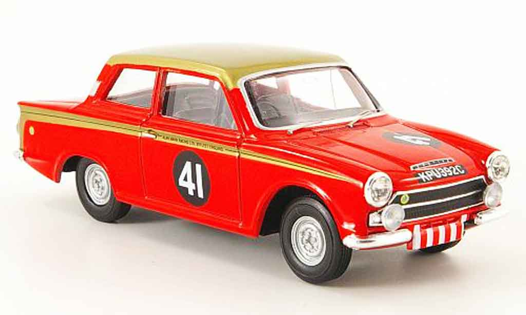 Lotus Cortina 1/43 Vanguards mki no.41 alan mann racing etcc 1965 modellautos