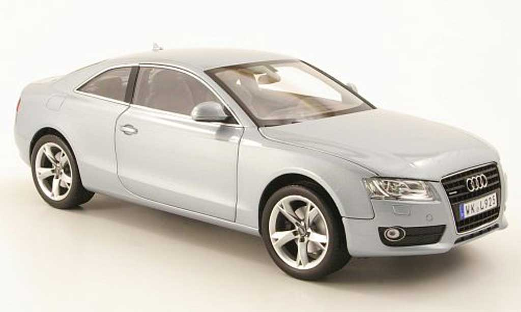 Audi A5 1/18 Norev coupe grise metallized 2007 miniature