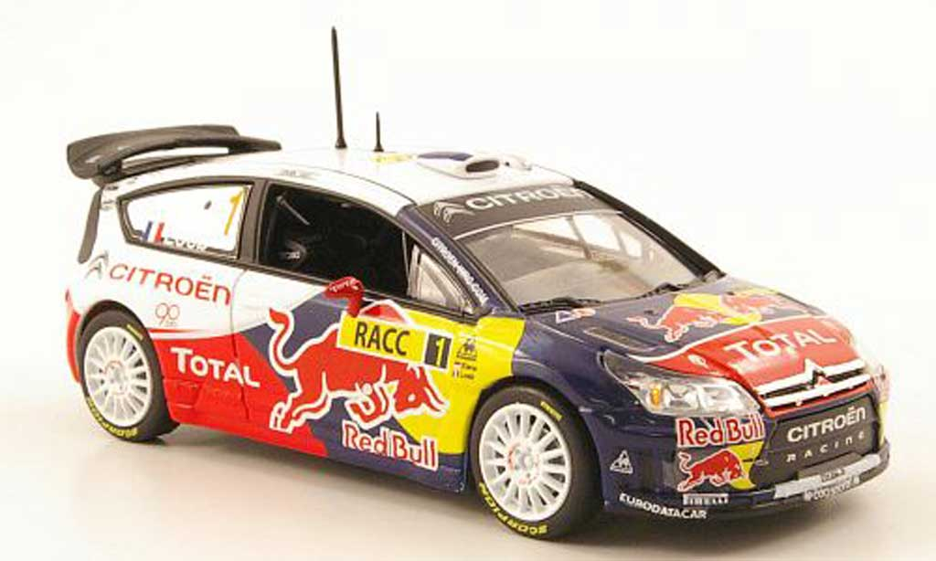 Citroen C4 WRC 2009 1/43 Norev No.1 Total Rally Spanien miniature