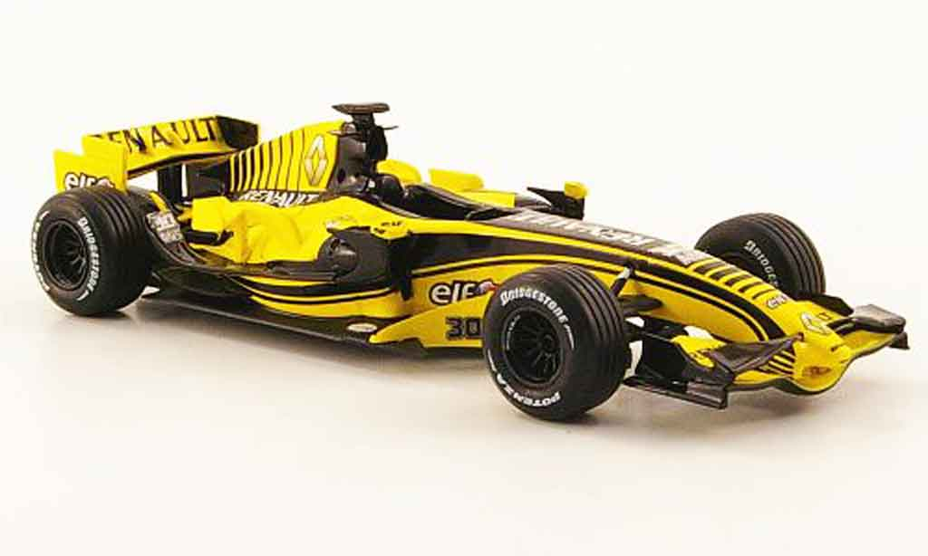 renault f1 miniature f1 r27 30th anniversary 2007 norev 1 43 voiture. Black Bedroom Furniture Sets. Home Design Ideas