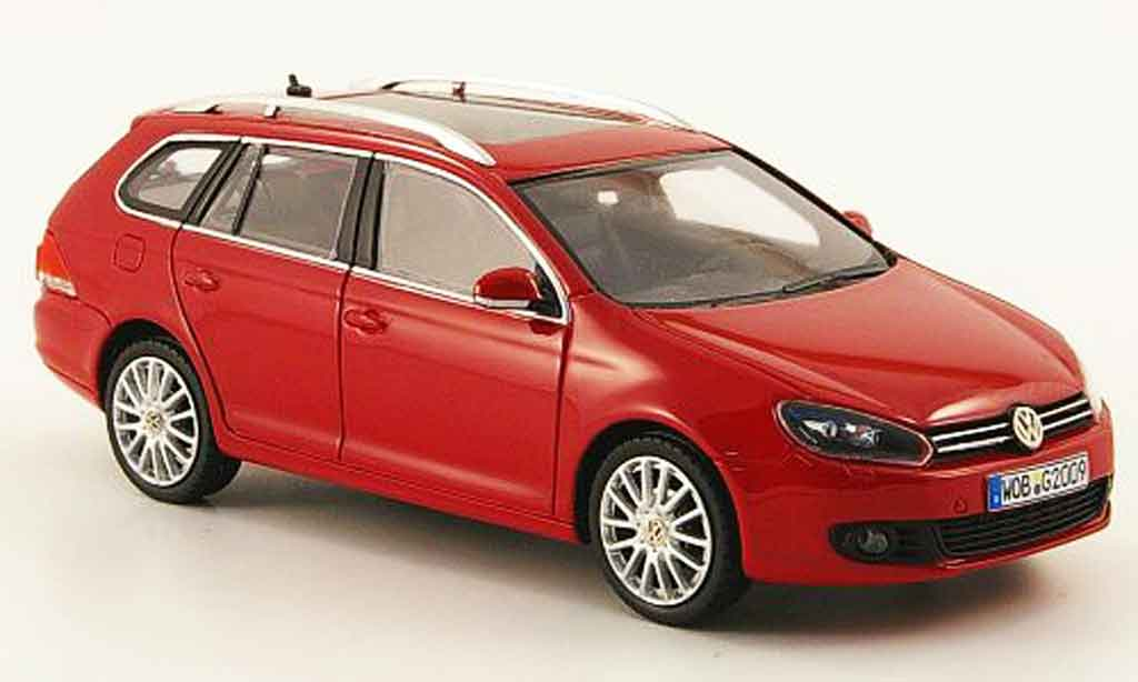 Volkswagen Golf VI 1/43 Provence Moulage variant red 2009 diecast model cars