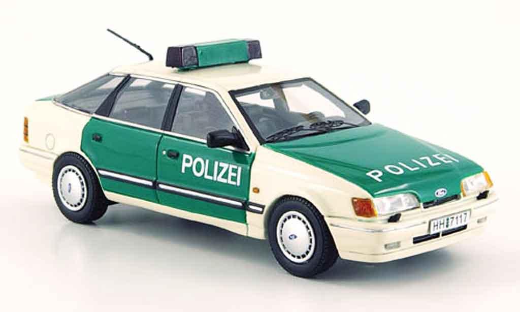 Ford Scorpio MK1 police  liaveciete Auflage 300 Neo. Ford Scorpio MK1 police  liaveciete Auflage 300 Police miniature 1/43