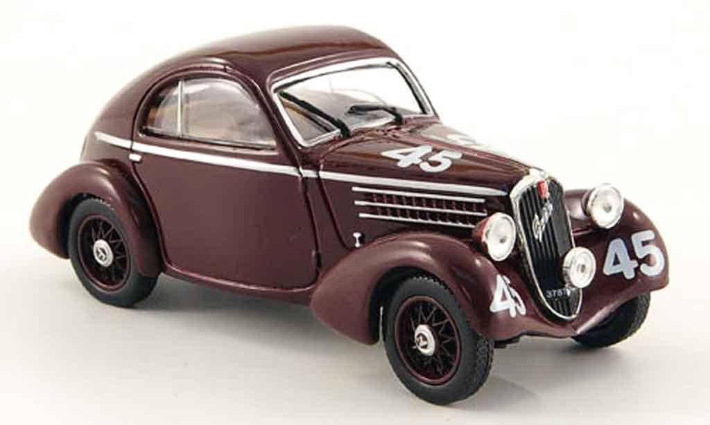 Miniature Fiat 508 Balilla Berlinetta No.45 Mille Miglia 1936 MCW. Fiat 508 Balilla Berlinetta No.45 Mille Miglia 1936 Mille Miglia miniature 1/43