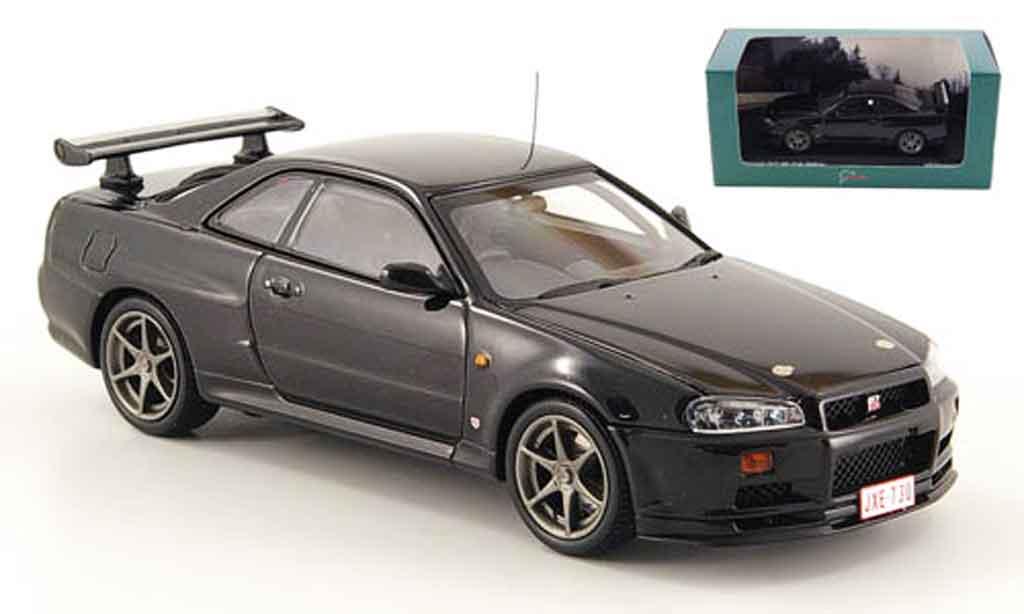 nissan skyline r34 gt r testfahrzeug nurburgring kyosho. Black Bedroom Furniture Sets. Home Design Ideas