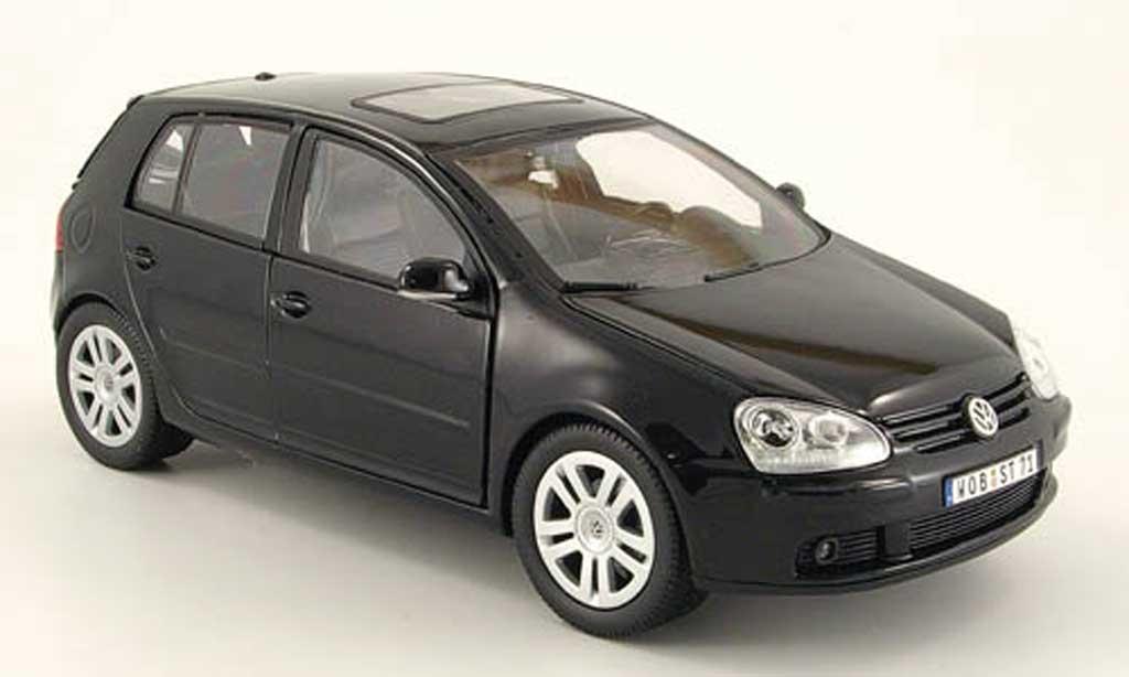Volkswagen Golf V GTI black Burago. Volkswagen Golf V GTI black miniature 1/18