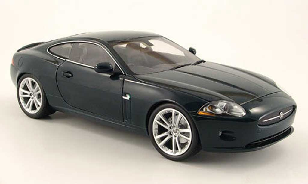 Jaguar XK coupe 1/18 Minichamps (rhd) grun 2006 miniature