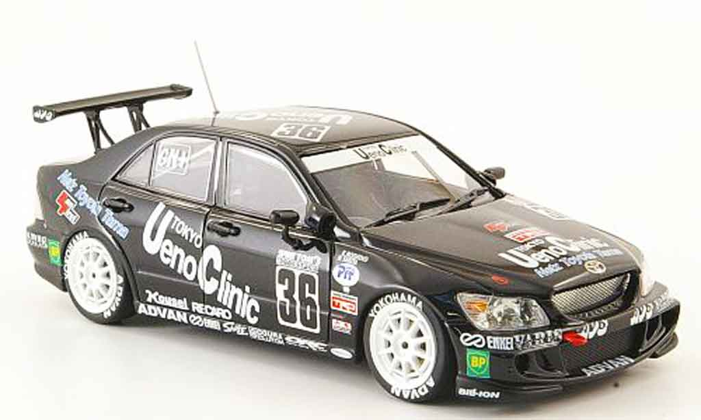 Toyota Altezza 1/43 Ebbro no.36 ueno clinic super taikyu 2000 miniature