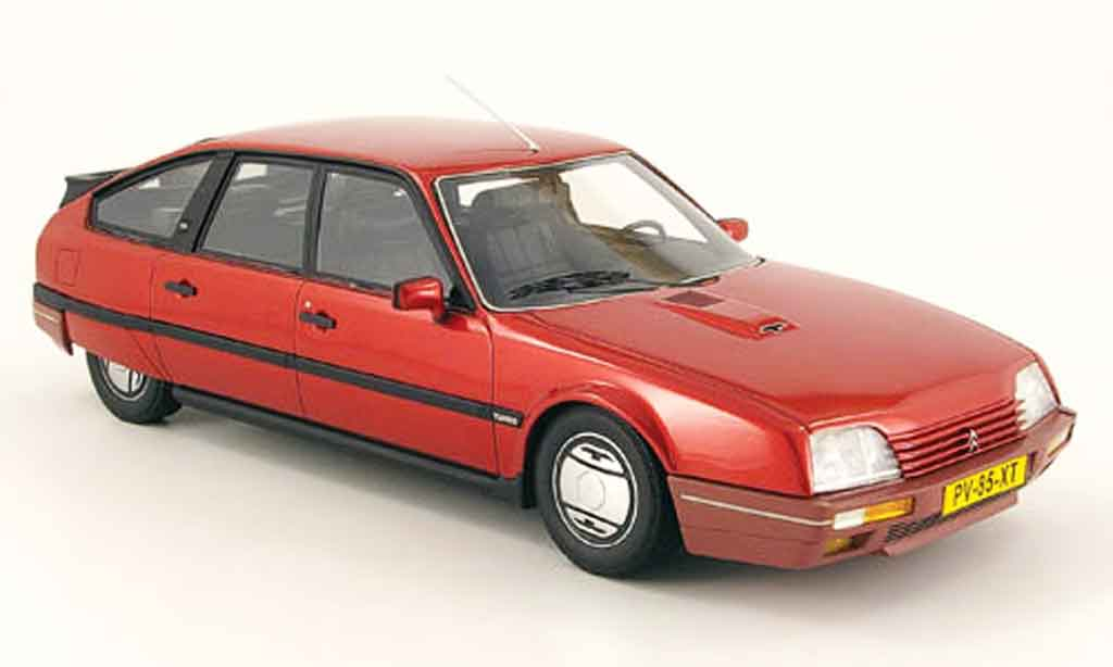 citroen cx miniature gti turbo 2 rouge 1986 neo 1 18 voiture. Black Bedroom Furniture Sets. Home Design Ideas
