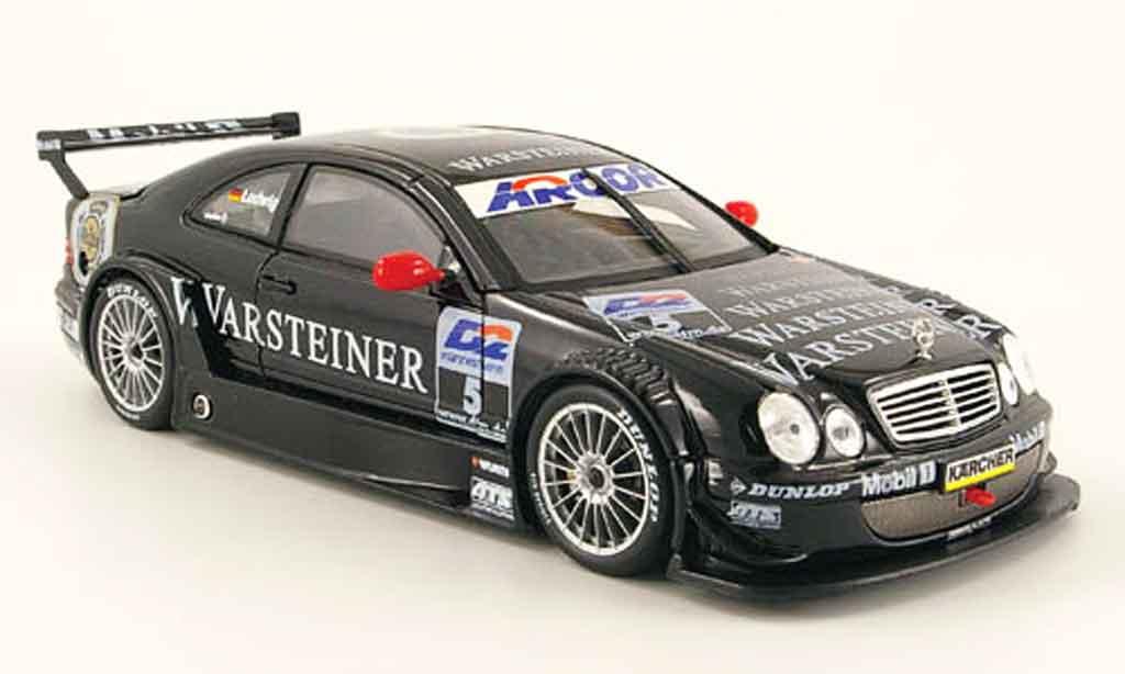 Mercedes Classe CLK DTM 1/18 Maisto amg no.5 warsteiner 2000 miniature