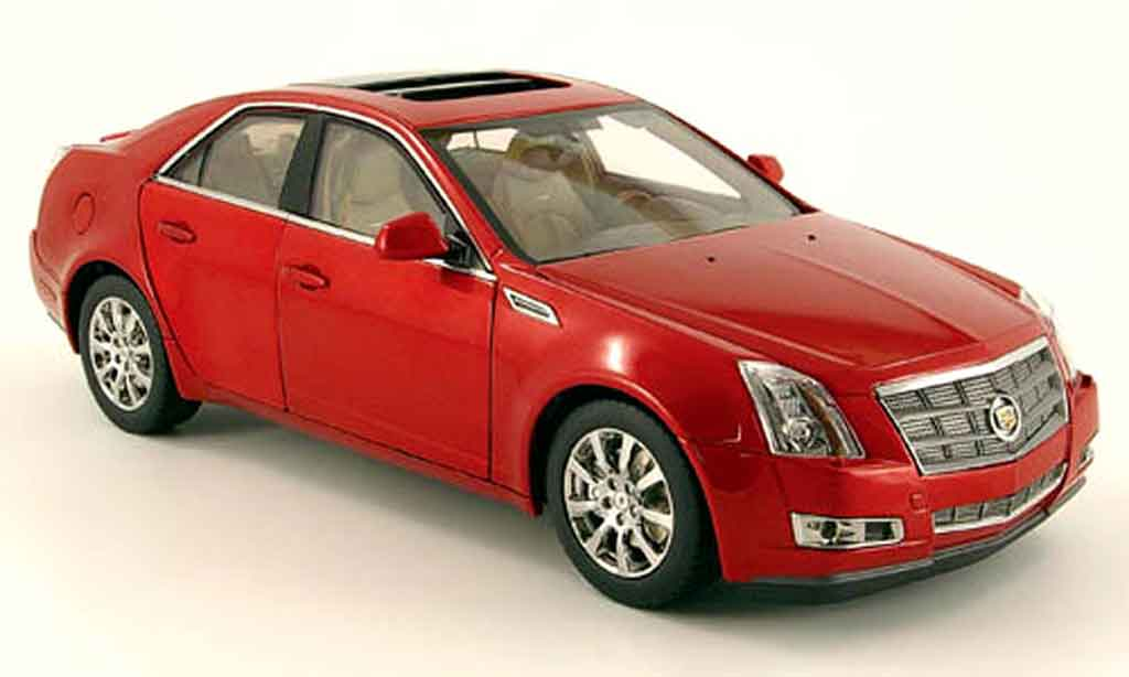 Cadillac Cts G001r Red Kyosho Diecast Model Car 1 18 Buy