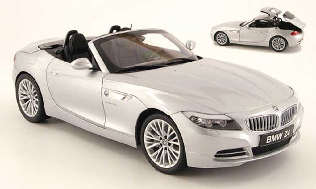 bmw z4 grau metallisch kyosho modellauto 1 18 kaufen verkauf modellauto online. Black Bedroom Furniture Sets. Home Design Ideas