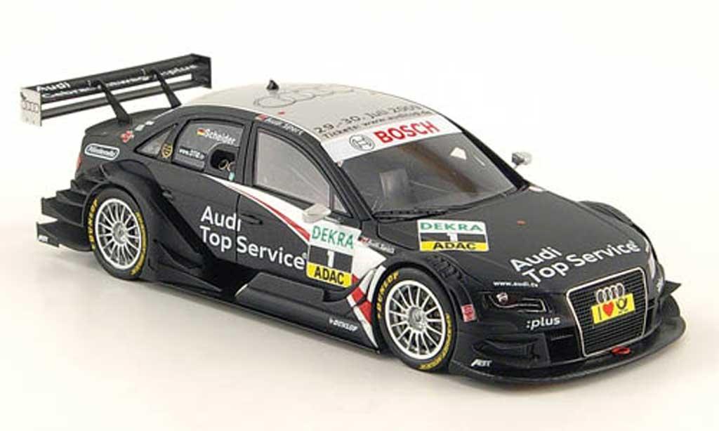Audi A4 DTM 1/43 Spark No.1 TopService/GW:plus T.Scheider DTM  2009 miniature