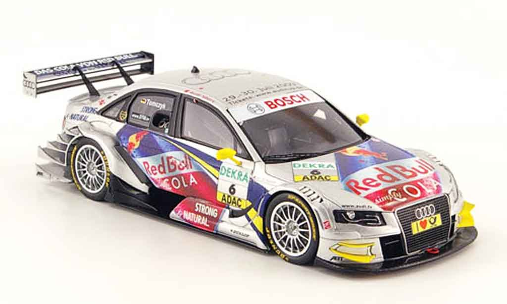 Audi A4 DTM 1/43 Spark No.6 Red Bull Cola M.Tomczyk 2009 miniature