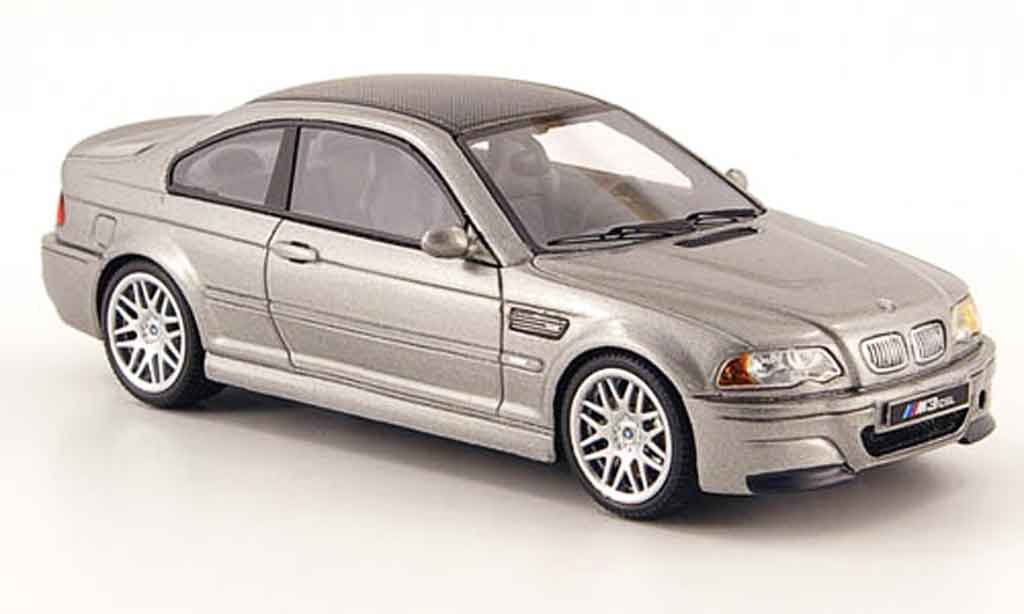 Bmw M3 E46 1/43 Premium X CSL grise 2003