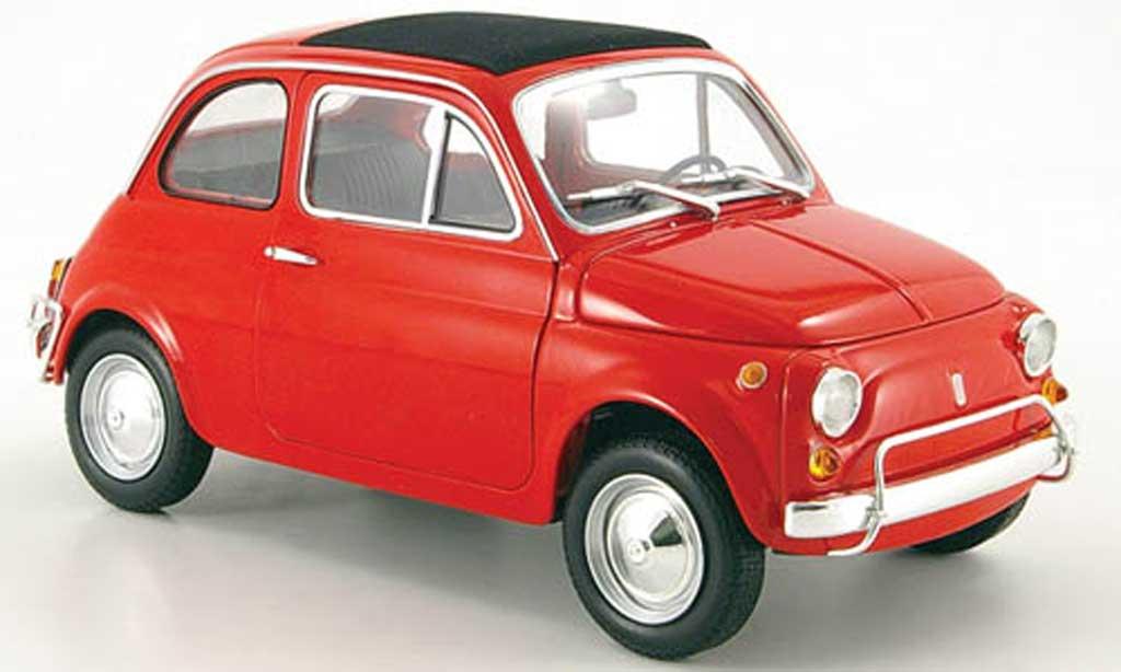Fiat 500 L 1/18 Minichamps rouge mcw 1968 miniature