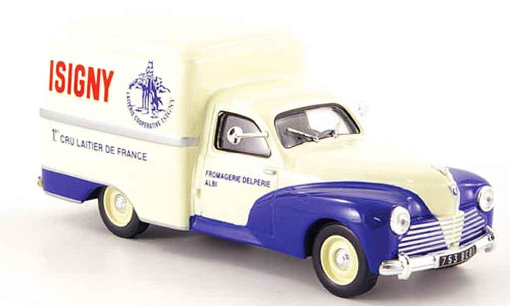 Peugeot 203 Fourgonette 1/43 IXO u8 isigny 1953 miniature