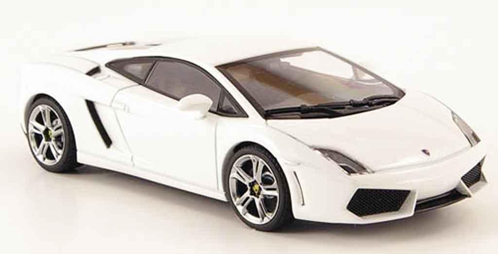 Lamborghini Gallardo LP560-4 LP560-4 1/43 Autoart white diecast model cars