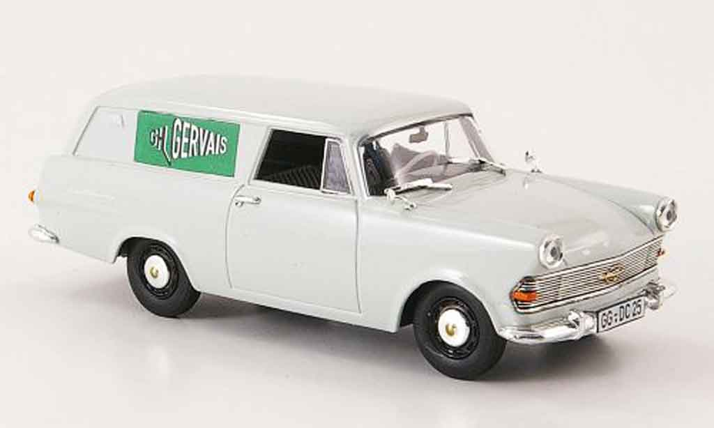 Opel Rekord 1/43 Bing p2 kasten gervais miniature