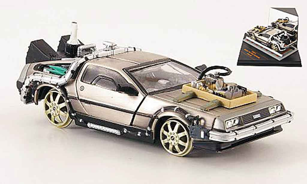 de lorean futur iii miniature dmc 12 back to the futur iii vitesse 1 43 voiture. Black Bedroom Furniture Sets. Home Design Ideas