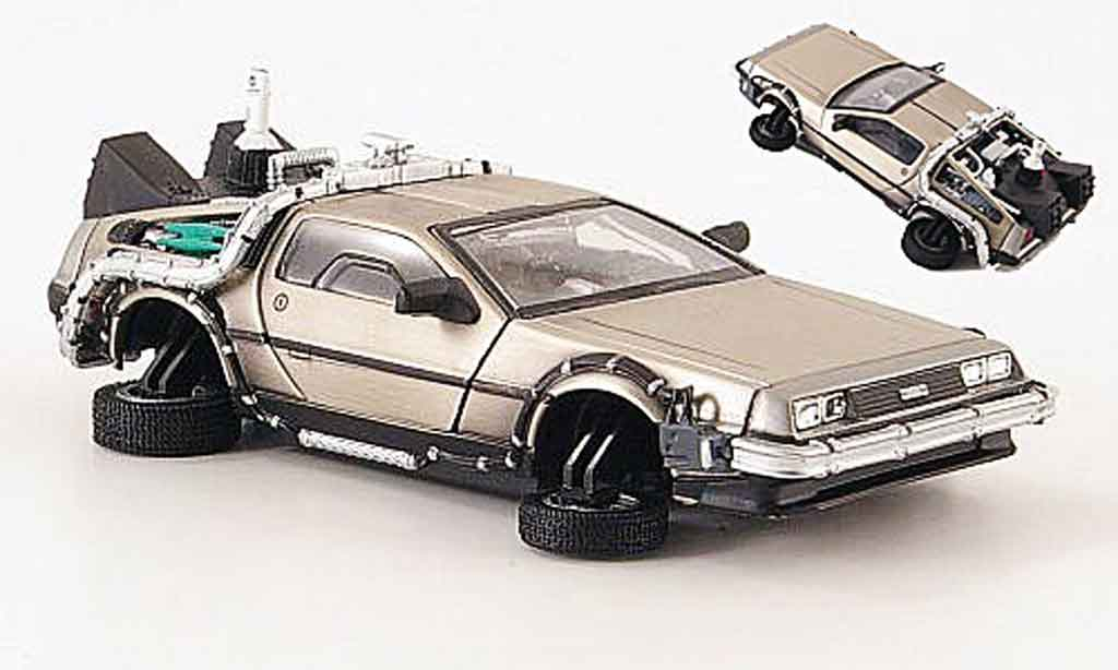 De Lorean futur II 1/43 Vitesse DMC 12 Back To The Futur II Flugversion miniature