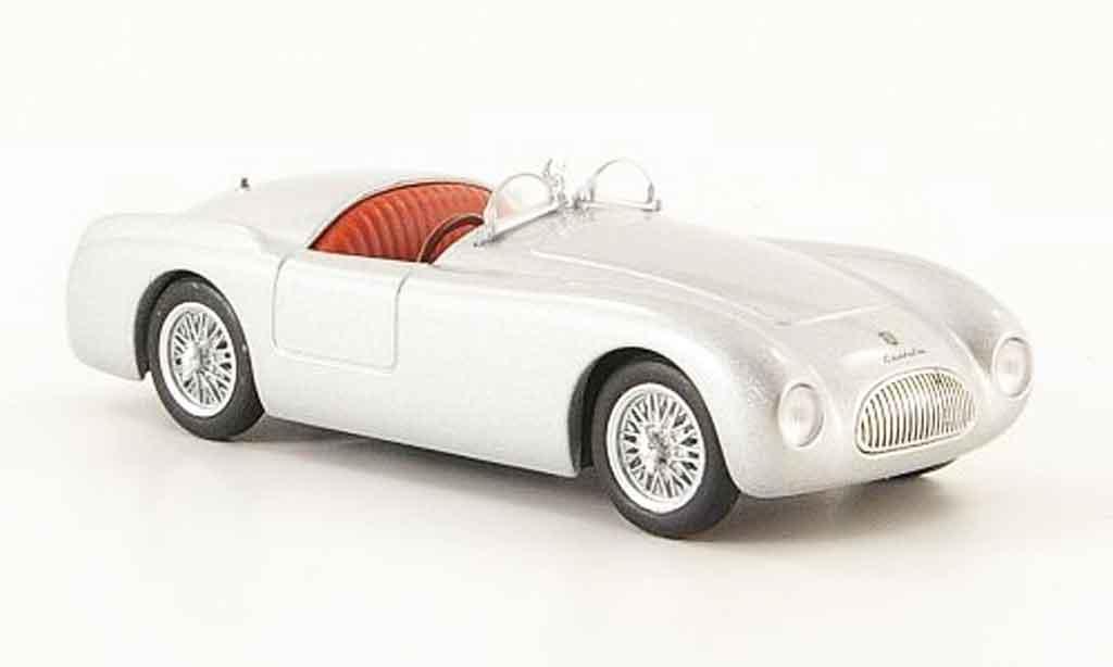 Cisitalia 202 Spyder 1/43 Starline grise metallisee 1947 miniature