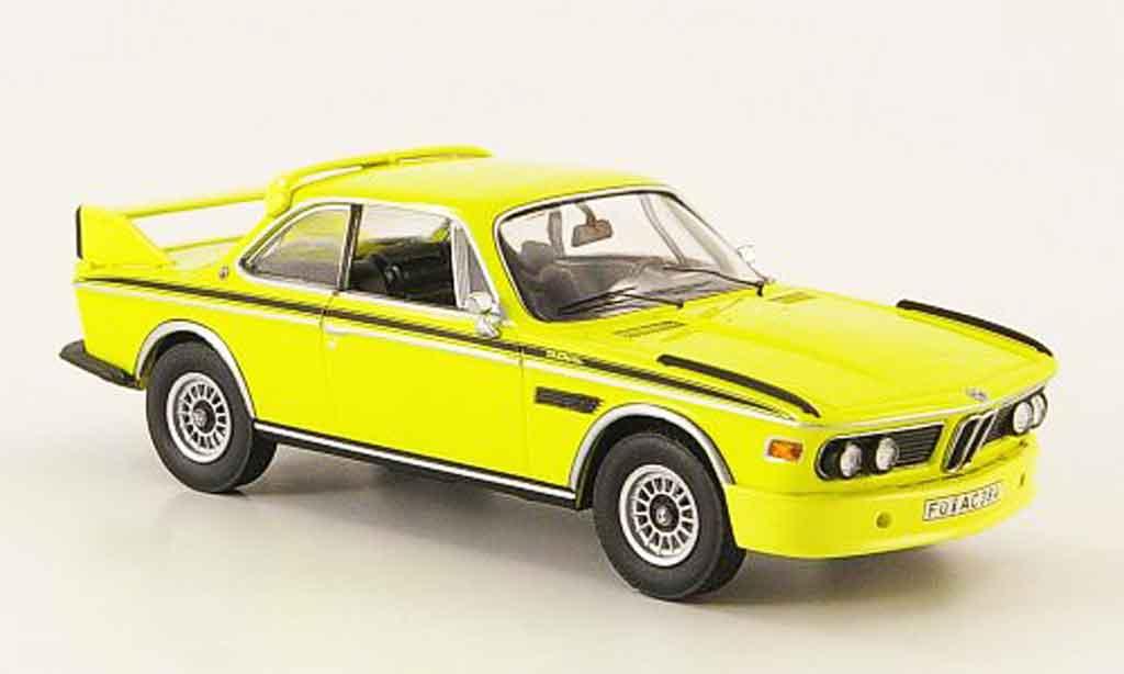 Bmw 3.0 CSL yellow Schuco. Bmw 3.0 CSL yellow miniature 1/43