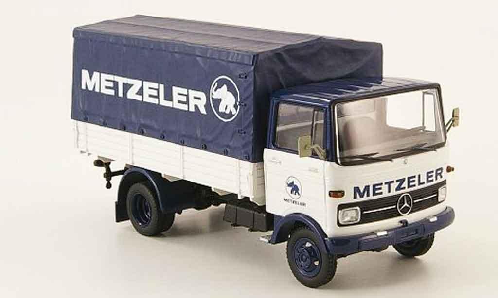Mercedes LP 608 1/43 Schuco PP LKW Metzeler miniature
