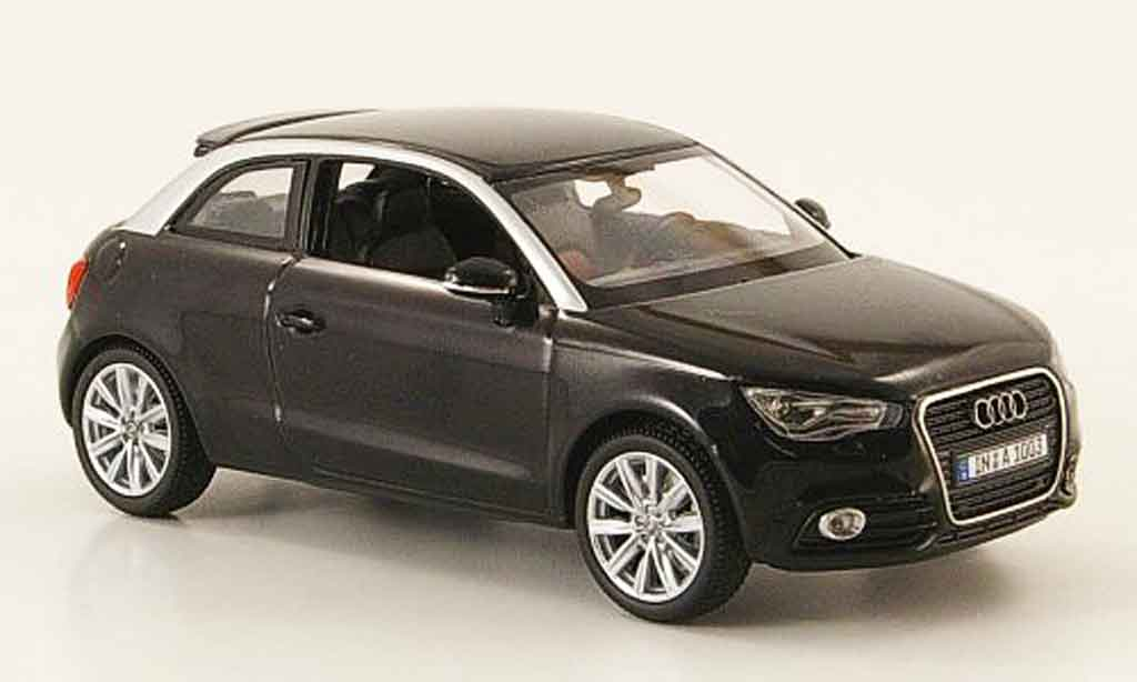 audi a1 miniature noire 2010 kyosho 1 43 voiture. Black Bedroom Furniture Sets. Home Design Ideas