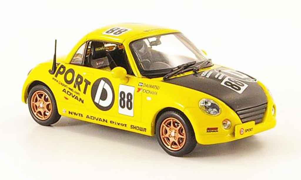 Daihatsu Copen 1/43 J Collection D Sport No.88 Rechtslenker 2002 miniature