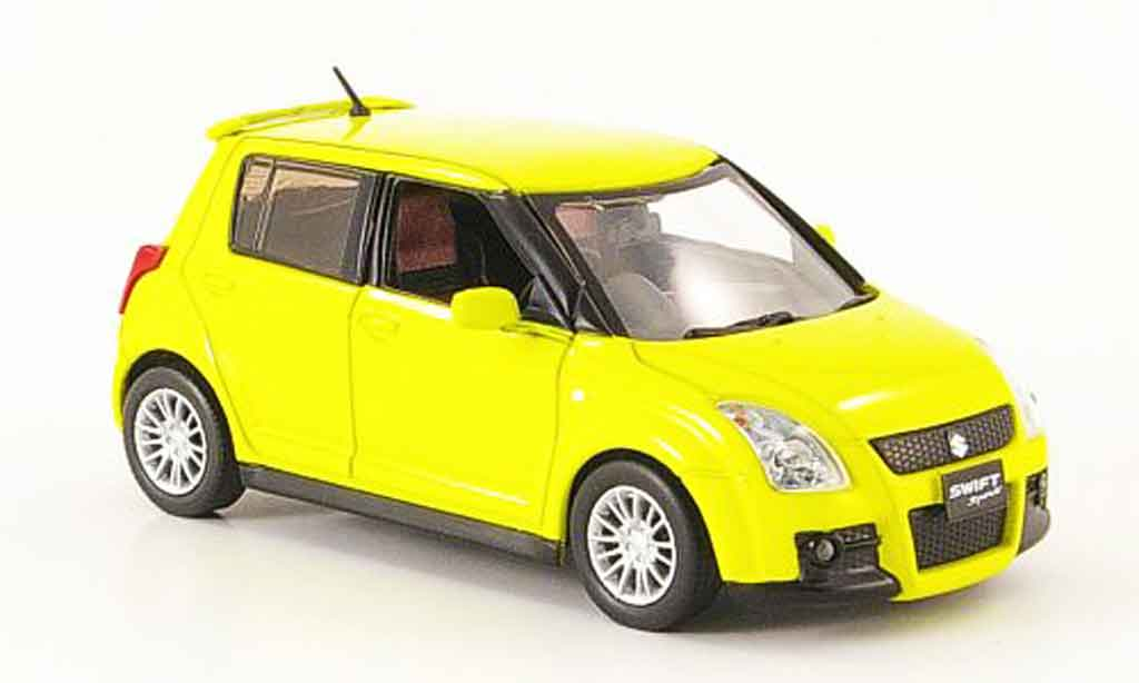 Suzuki Swift 1/43 J Collection Sport jaune Funfturer Rechtslenker 2005 miniature