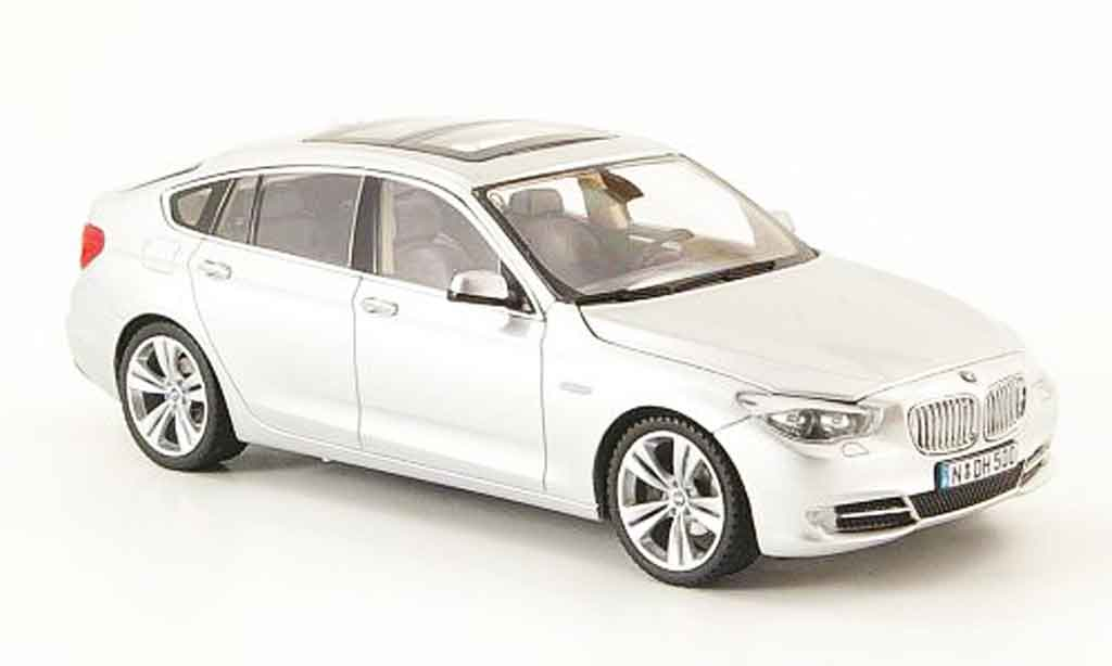 Bmw 550 F07 GT grey 2009 Schuco. Bmw 550 F07 GT grey 2009 miniature 1/43