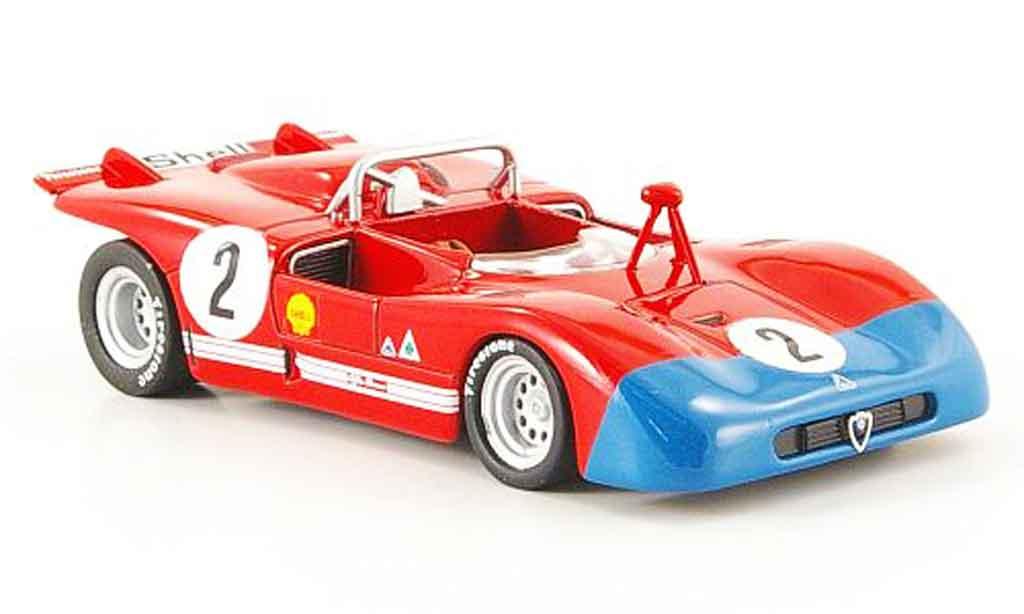 Alfa Romeo 33.3 1971 1/43 M4 no.2 buenos aires miniature