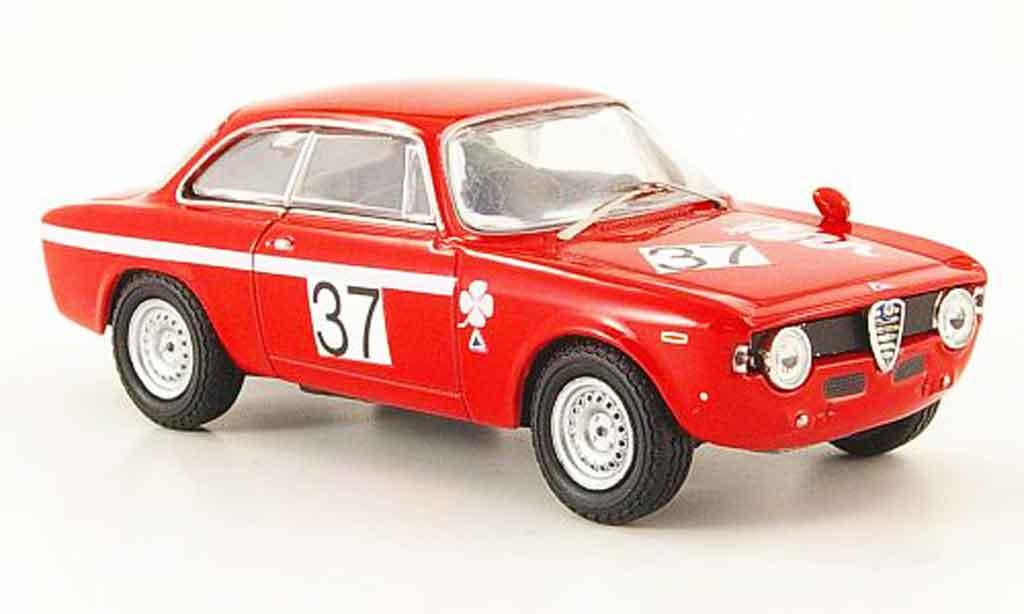 Alfa Romeo Giulia 1600 GTA 1/43 M4 no.37 brno 1969 miniature