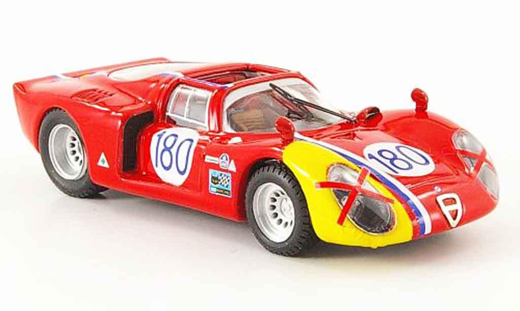 Alfa Romeo 33.2 1968 1/43 Best no.180 targa florio miniature