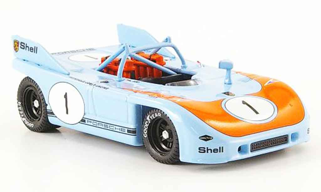 Porsche 908 1972 1/43 Best No.1 Joest Racing Brands Hatch miniature