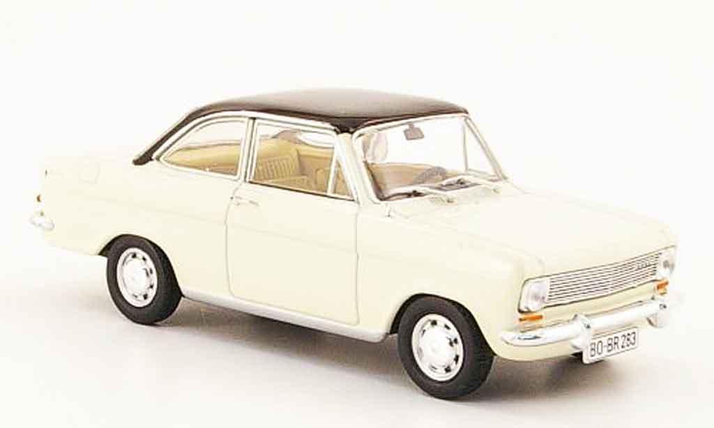 Opel Kadett A 1/43 Starline coupe beige noire 1963 miniature