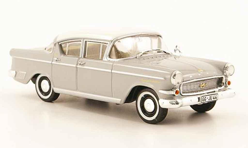 Opel Kapitan 1/43 Starline p 2.5 grise blanche 1958 miniature