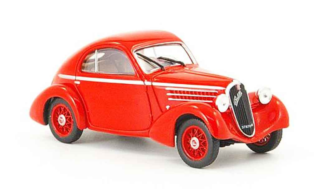 Fiat 508 1/43 Starline CS Balilla Berlinetta red 1935 diecast model cars