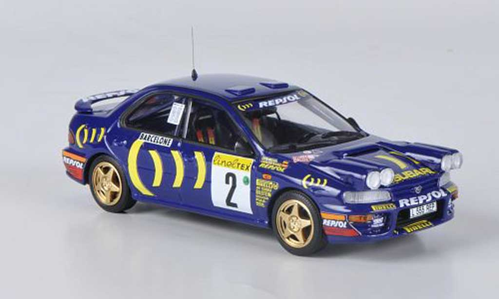 Subaru Impreza WRC 1/43 Trofeu No.2 Repsol C.Sainz / L.Moya Rally Monte Carlo 1994 miniature