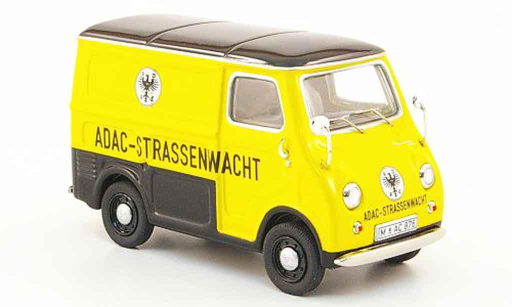 Goggomobil TL 1/43 Premium Cls 250 Kasten ADAC Strassenwacht miniature