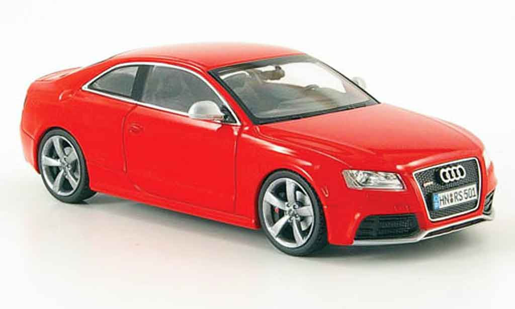 Audi RS5 1/43 Schuco coupe rouge 2010 miniature