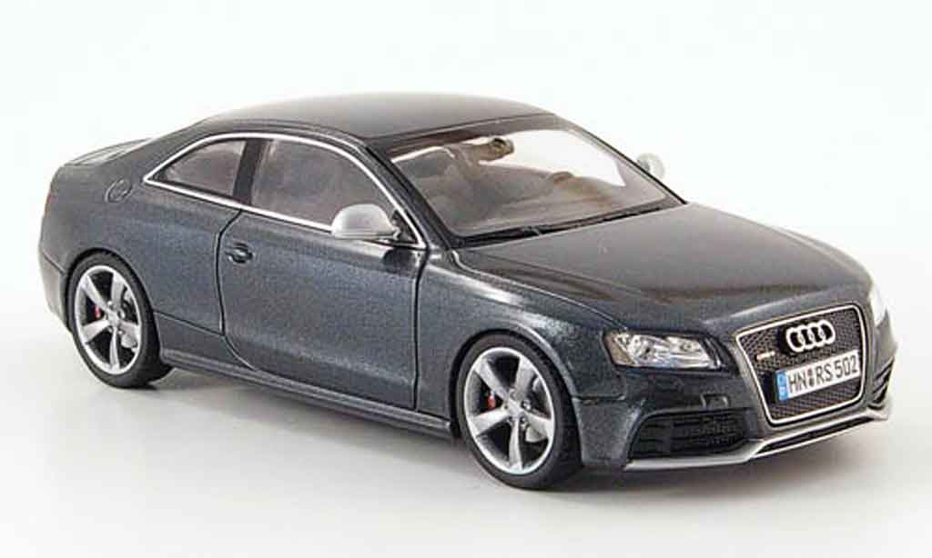 audi rs5 coupe grey 2010 schuco modellauto 1 43 kaufen verkauf modellauto online. Black Bedroom Furniture Sets. Home Design Ideas