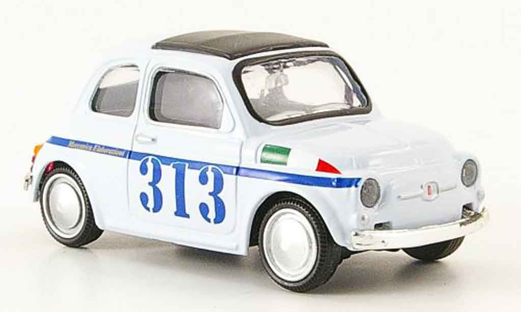 Fiat 500 1/43 Mondo Motors No.313 grise 1957 miniature