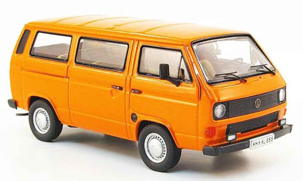 Volkswagen Combi 1/43 Premium Cls t3b bus orange miniature