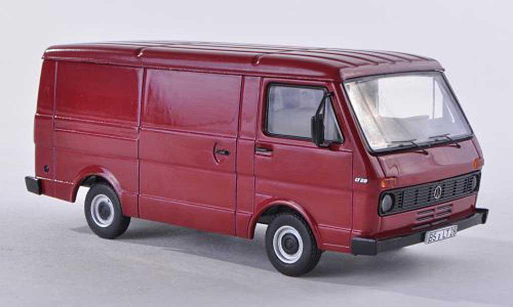 Volkswagen LT28 1/43 Premium ClassiXXs kombinoire-rouge miniature