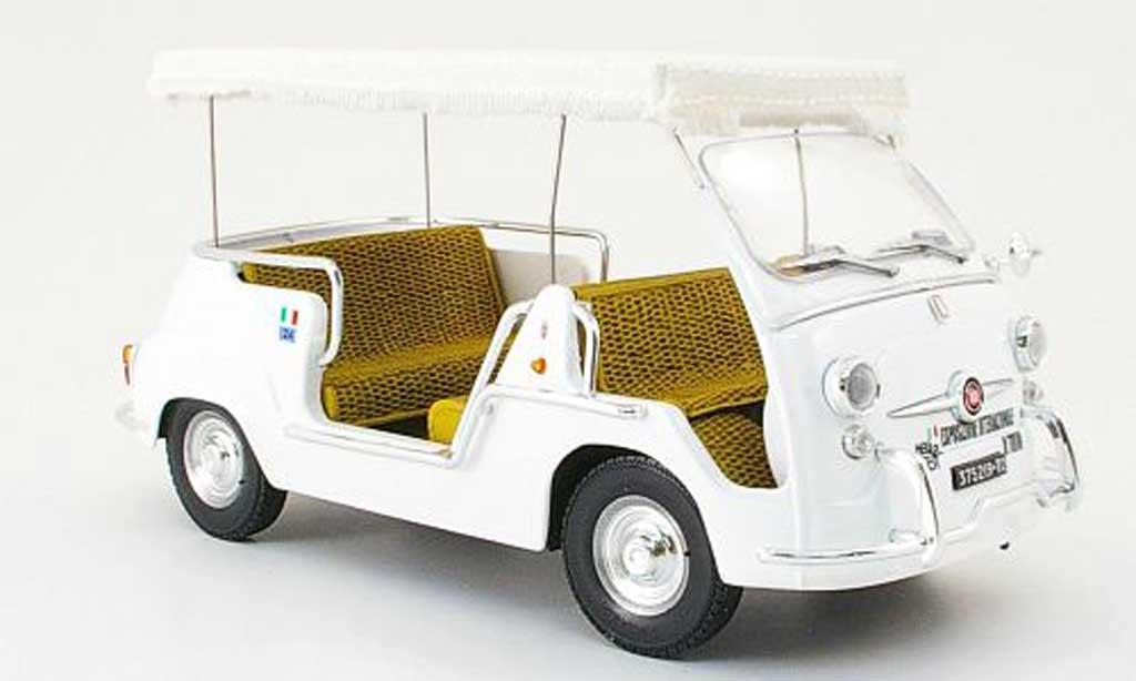 Fiat 600 1/18 Mini Miniera multipla taxi weltausstellung turin italia 1961 miniature