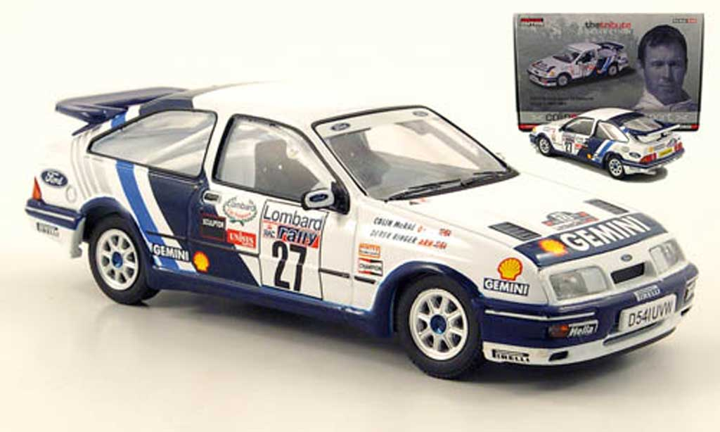 Ford Sierra Cosworth RS 1/43 Vanguards No.27 C.McRae/D.Ringer WRC 1989 miniature