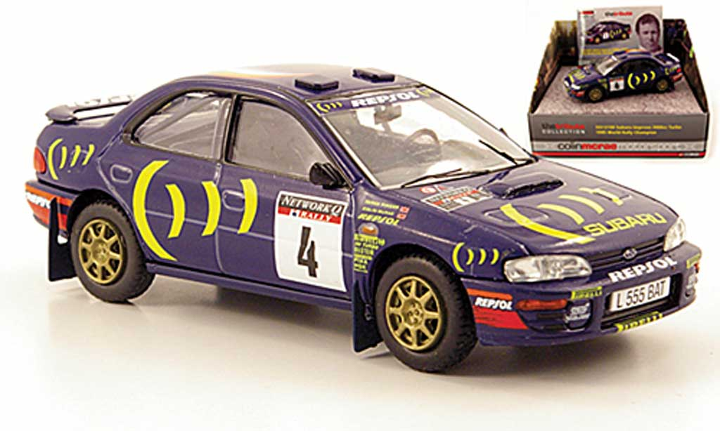 Subaru Impreza WRC 1/43 Vanguards 2000cc Turbo No.4 Repsol 1995