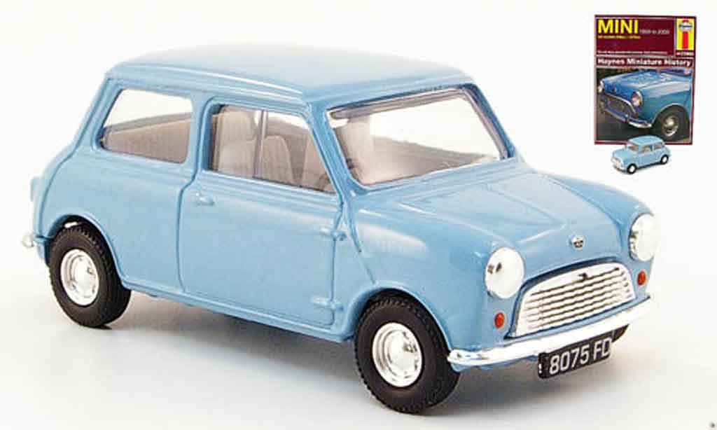 Austin Mini Cooper 1/43 Corgi bleu miniature