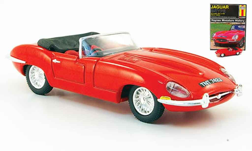 Jaguar E-Type 1/43 Corgi roadster rouge miniature